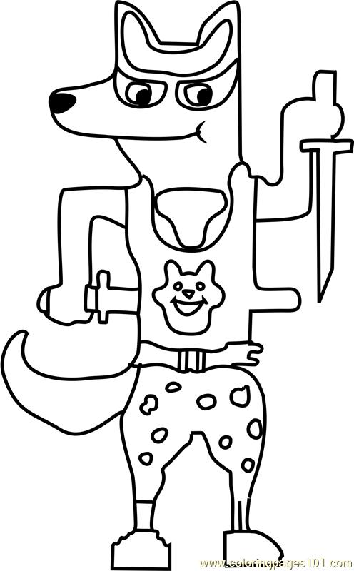 Doggo Undertale printable coloring