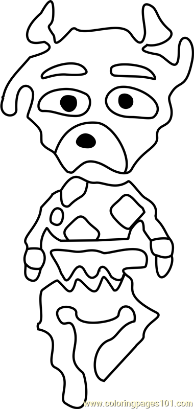 Faun Undertale Coloring Page Free Undertale Coloring