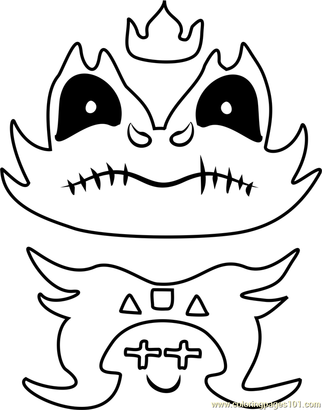 final froggit undertale coloring page