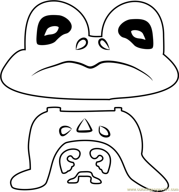 Froggit Undertale Coloring Page
