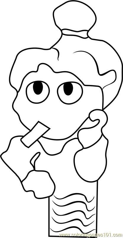 Newspaper Editor 2 Undertale Coloring Page