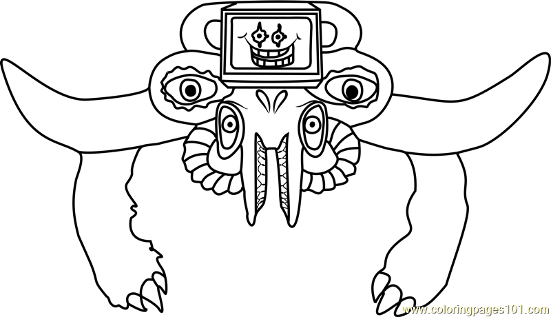 Photoshop flowey undertale coloring page free undertale for Undertale coloring pages