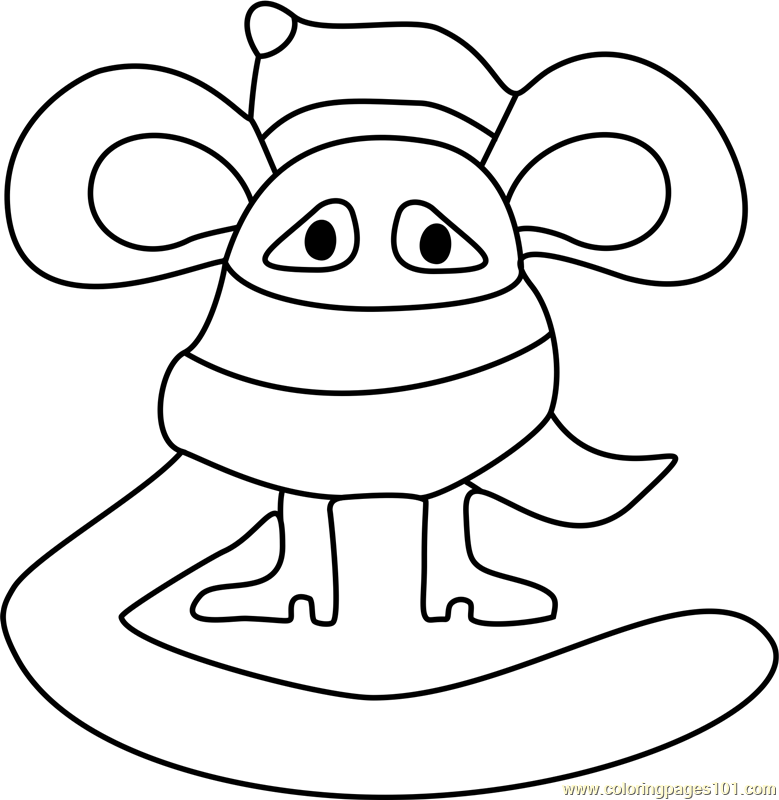 Scarved Mouse Undertale