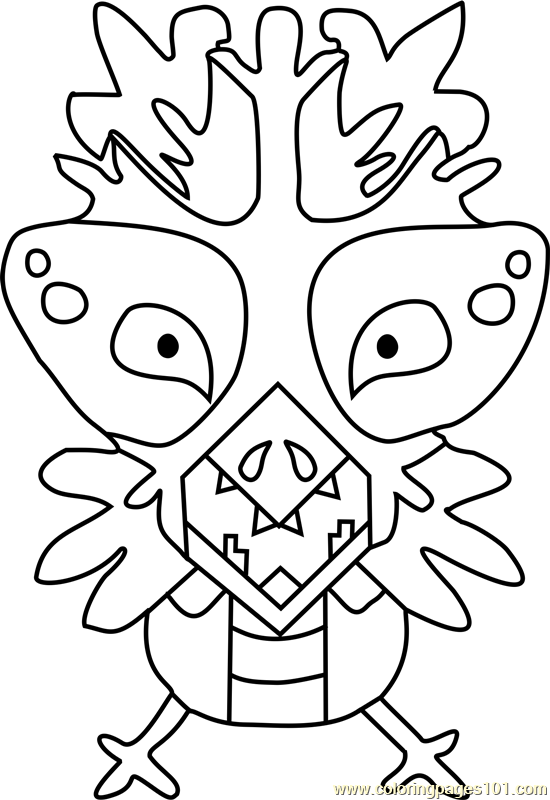 Snowdrake Undertale Coloring Page