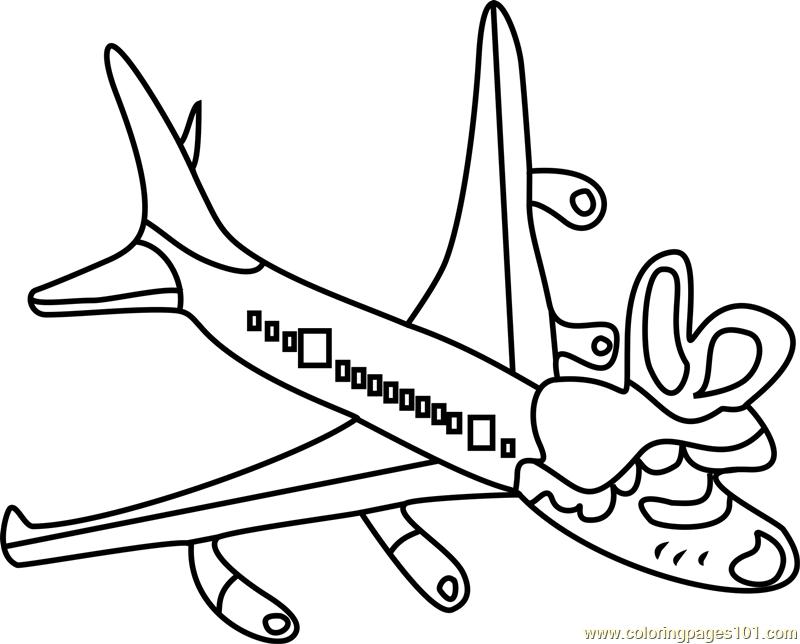Tsunderplane Undertale Coloring Page Free Undertale