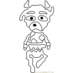 Faun Undertale coloring page