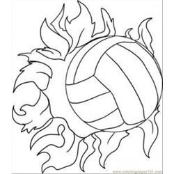 Draw A Volleyball Step 5