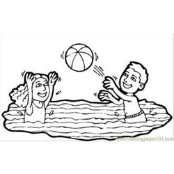 Water Volleyball Rdax 65