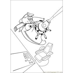 Wall E 71 Free Coloring Page for Kids