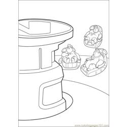 Wall E 72 Free Coloring Page for Kids