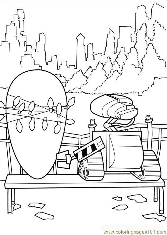 wall e 07 coloring page
