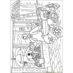Wallace And Gromit03 coloring page