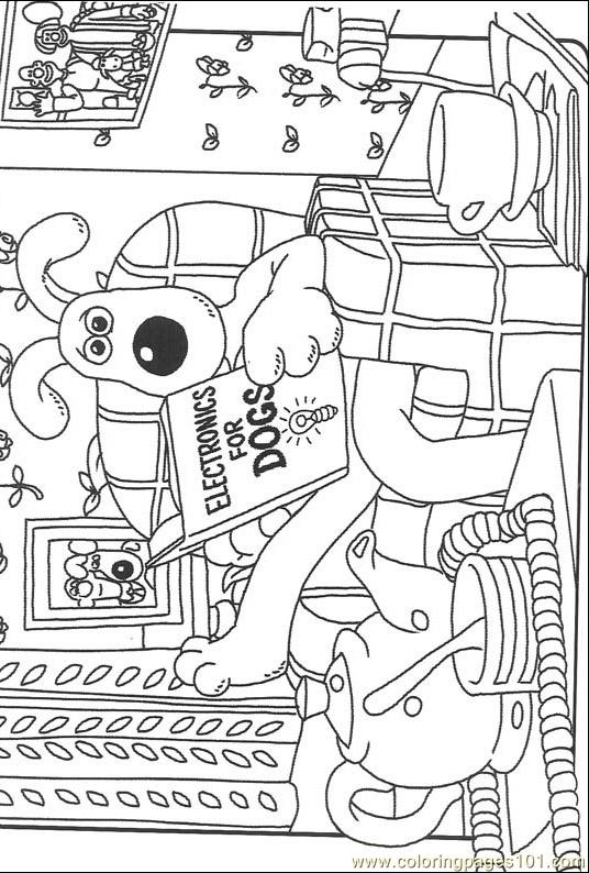 Wallace And Gromit013 (7) Coloring Page