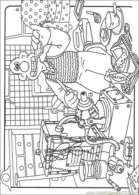 Wallace And Gromit06 Coloring Page