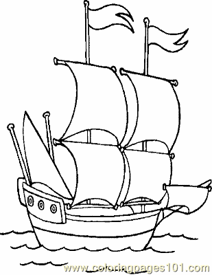 boat coloring page 03 copy coloring page