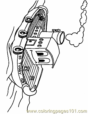 Boat Coloring Page 10 Copy Coloring Page