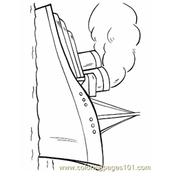 011 Ship Coloring Page Free Coloring Page for Kids
