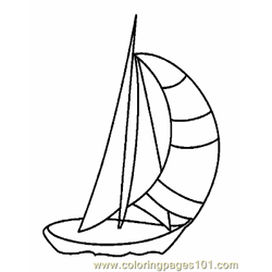 Boat Coloring Page 12 Copy