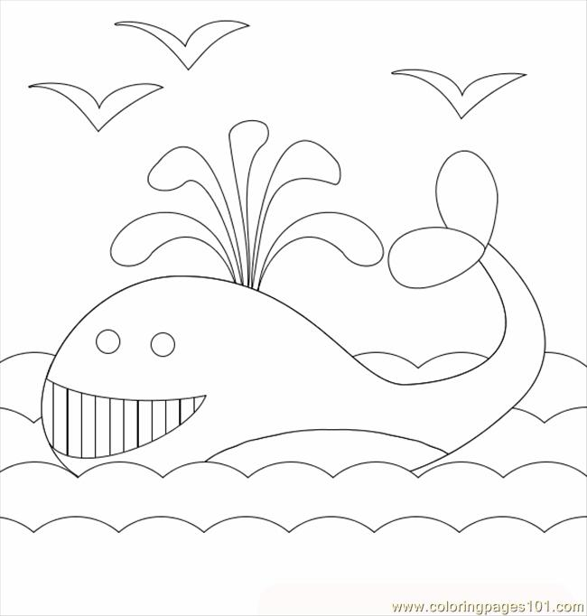 Whale3 Coloring Page