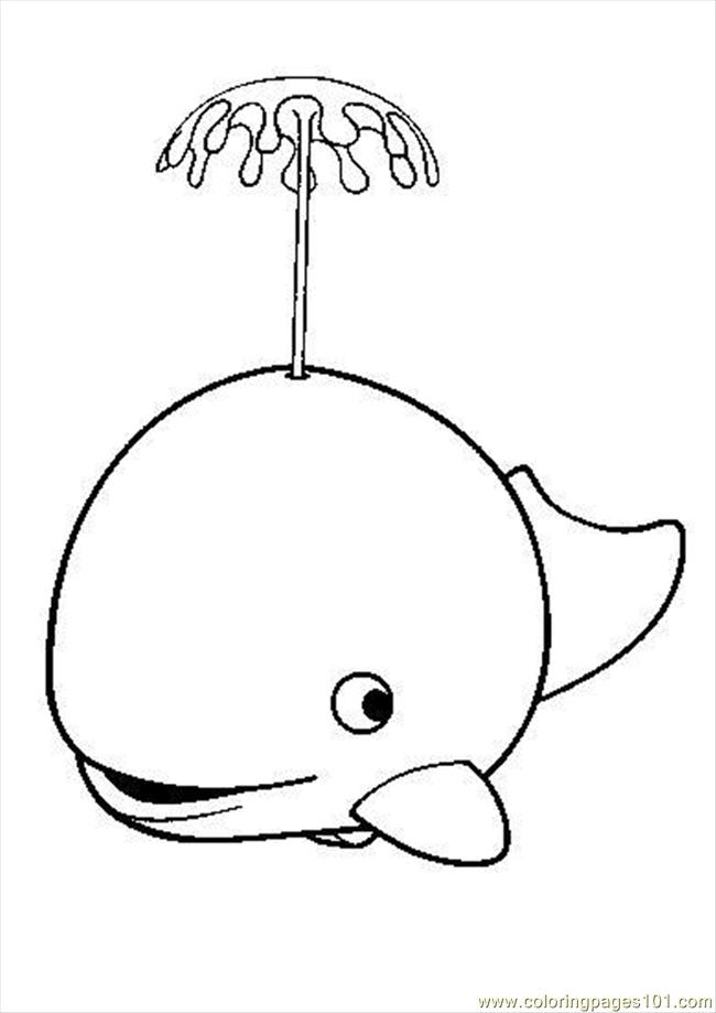 Whale Source K0o Coloring Page