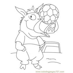 Wild Boar Coloring Page5 Free Coloring Page for Kids