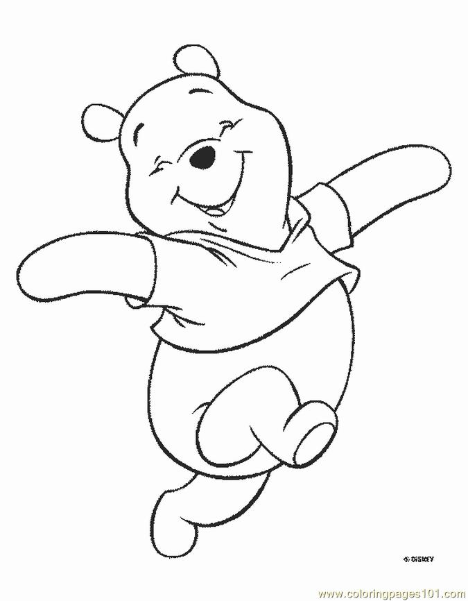 Winnie Pooh Coloring Page - Free Winnie The Pooh Coloring Pages ...
