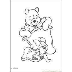 Winnie 07 Free Coloring Page for Kids