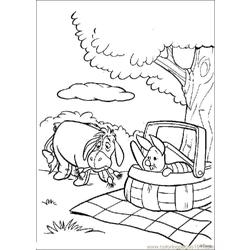 Winnie 12 coloring page