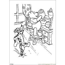Winnie 13 coloring page
