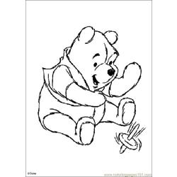 Winnie 14 coloring page