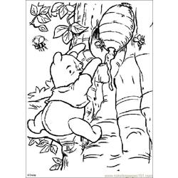 Winnie 15 coloring page