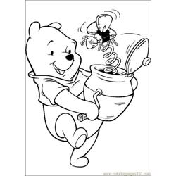 Winnie 27 coloring page