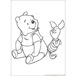 Winnie 28 coloring page