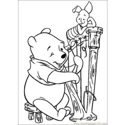 Winnie 29 coloring page