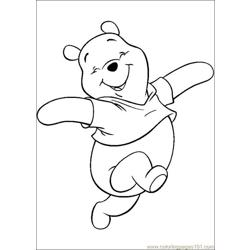 Winnie 30 coloring page