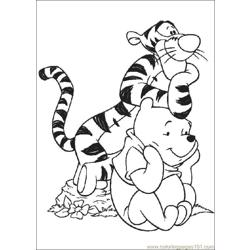 Winnie 31 coloring page