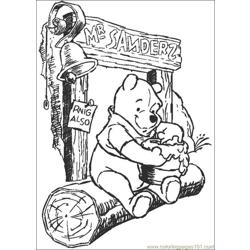 Winnie 34 coloring page