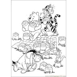 Winnie 36 coloring page