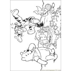 Winnie 40 coloring page