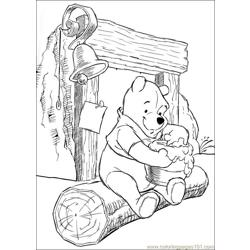 Winnie 41 coloring page