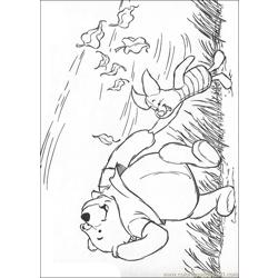 Winnie 42 coloring page