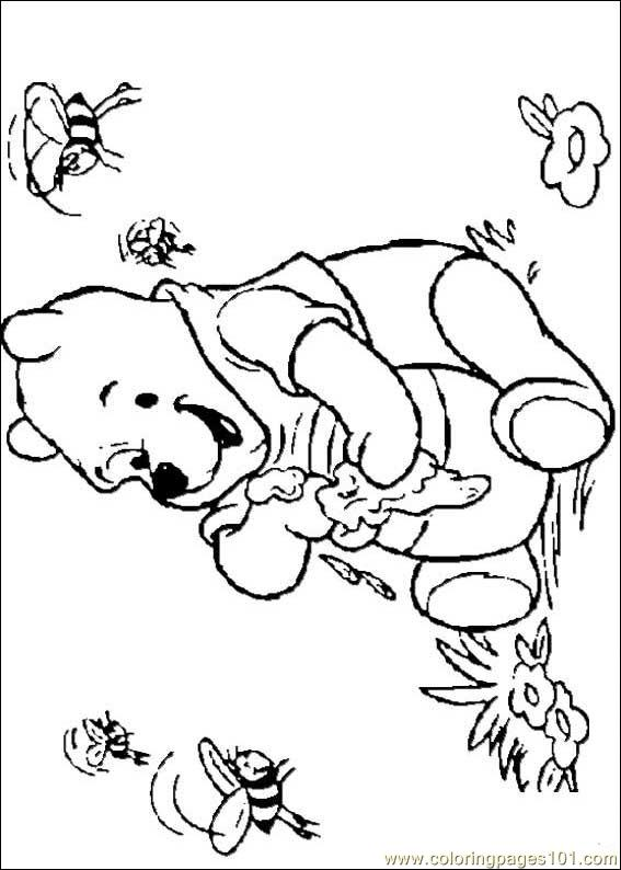 winnie 23 coloring page  free winnie the pooh coloring