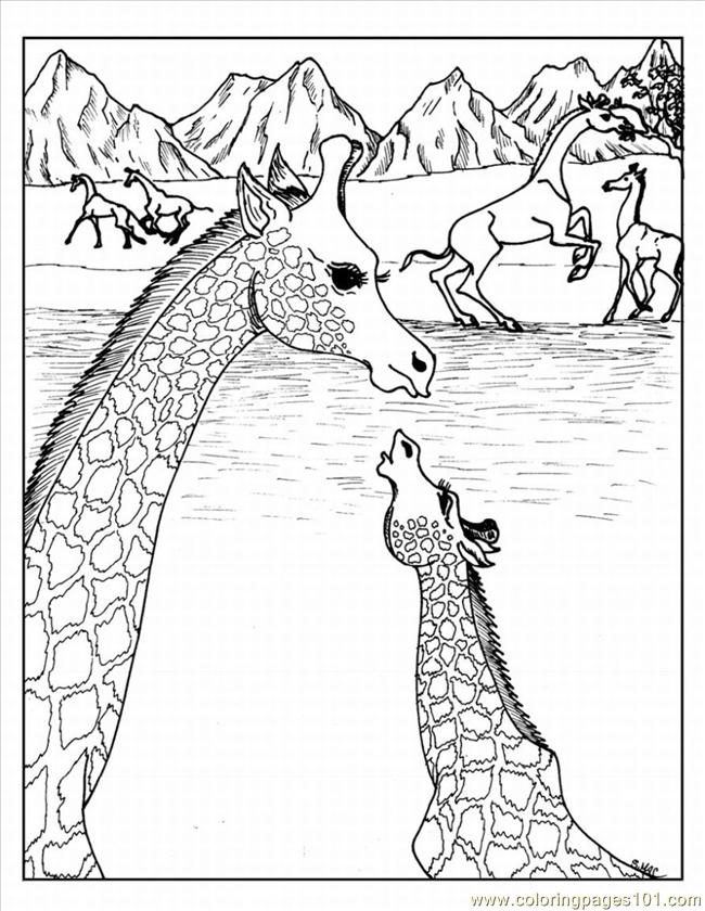 Advanced Coloring Pages 4 Lrg Coloring Page