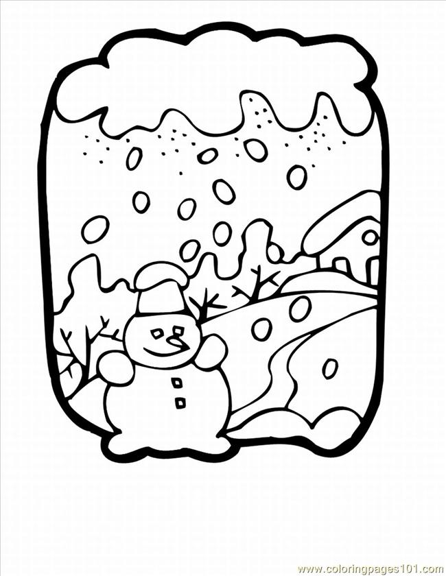 Ble Winter Coloring Pages Lrg Coloring Page