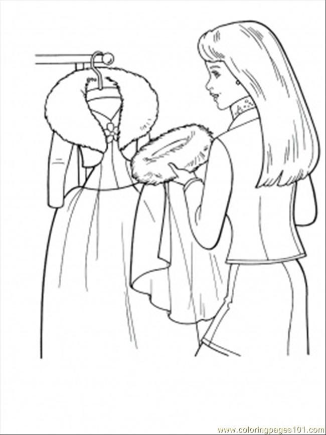 Ing Winter Coat Coloring Page Coloring Page