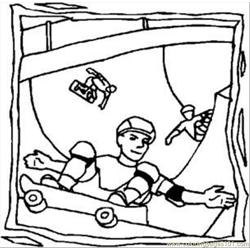 Bbb Boards Rdax 65 Free Coloring Page for Kids