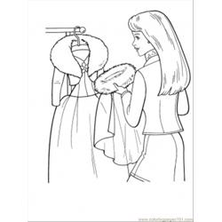 Ing Winter Coat Coloring Page