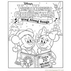 Ney Winter Coloring Pages Lrg
