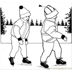 Rn How To Skate Coloring Page