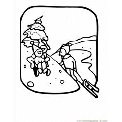 Winter Coloring Pages 23 Lrg